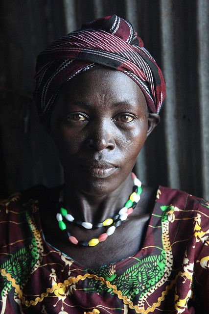 Jie lady | The Jie people live also in southern Sudan, a