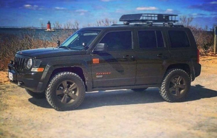 2 Lifted Patriot With Images Jeep Patriot Accessories Jeep