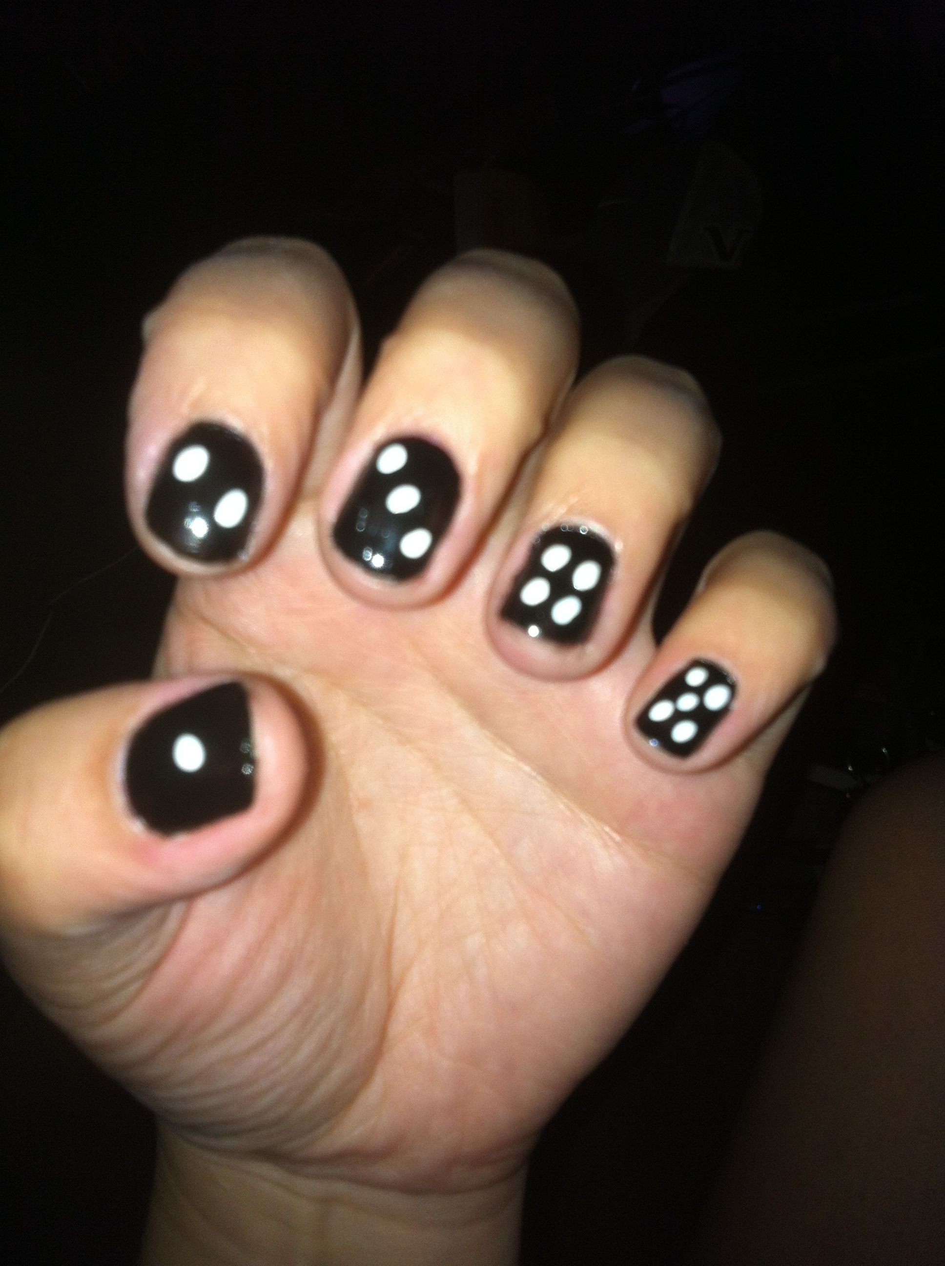 My nails for my Gangster Costume :)