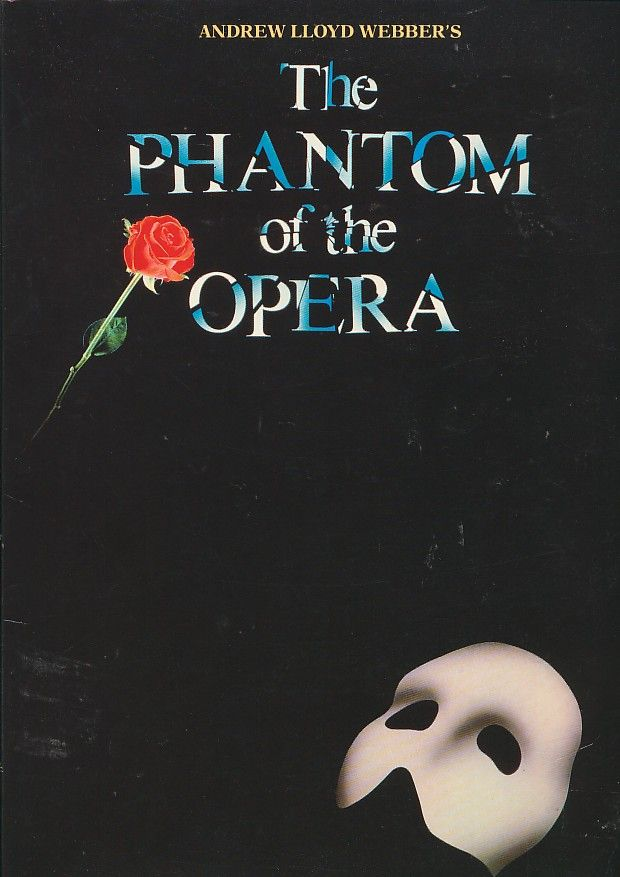 The Phantom of the Opera songbook containing complete lyrics, chords ...