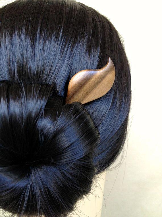Hair Stick Tasmanian Blackheart Sassafras by votepalantine on Etsy