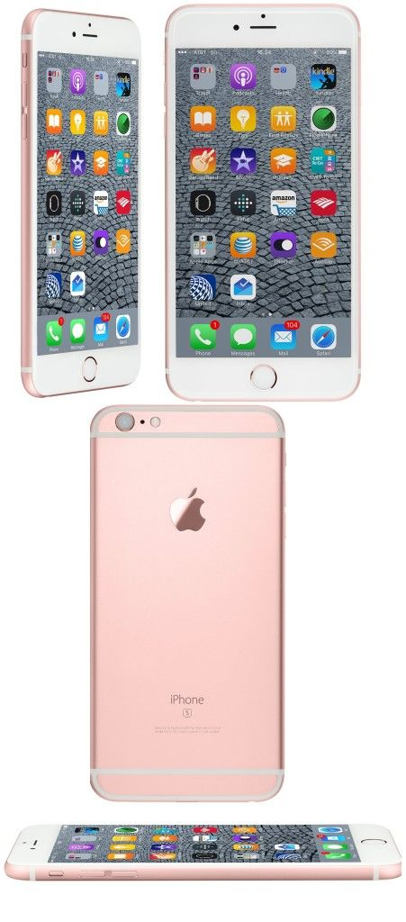 Apple Iphone 6s Plus In Rose Gold Unlocked Rose Gold Phone Case Iphone Gold Phone Case
