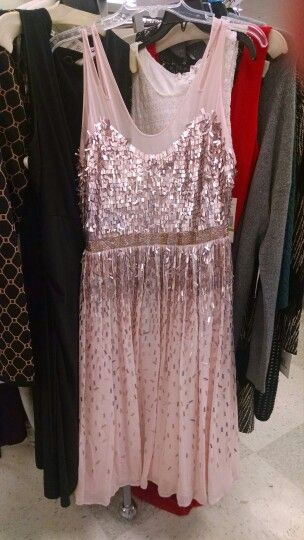 Sparkly pink dress for bridesmaids :)