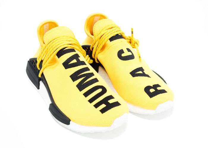 ADIDAS x Pharrell NMD HU 'Human Race' Black UK SIZE 10