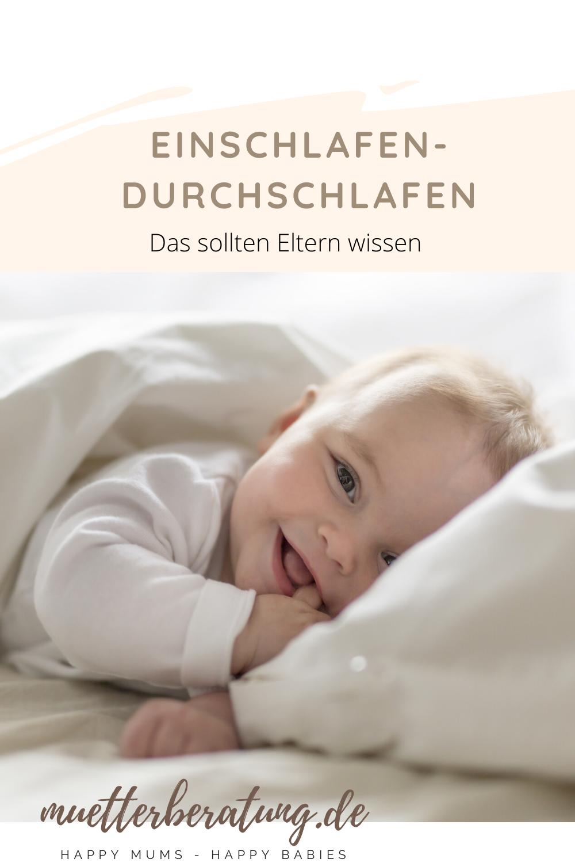 Einschlafen-Durchschlafen. Das sollten Eltern wissen. in