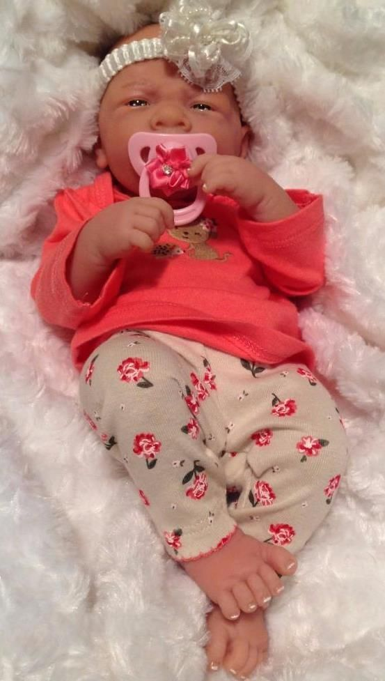 Details About My Sweet Baby Girl Berenguer Preemie