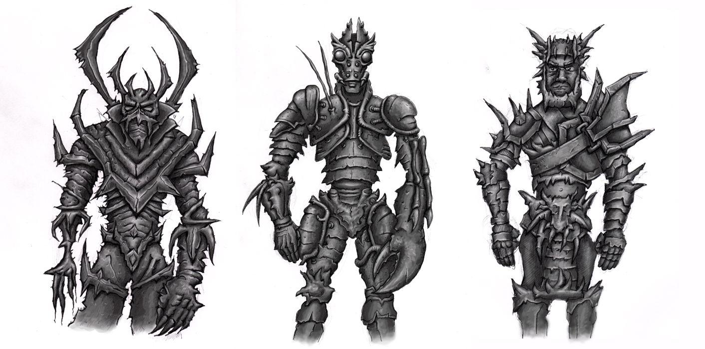 Armor Concepts by ShaunPattersonArt.deviantart.com on @deviantART