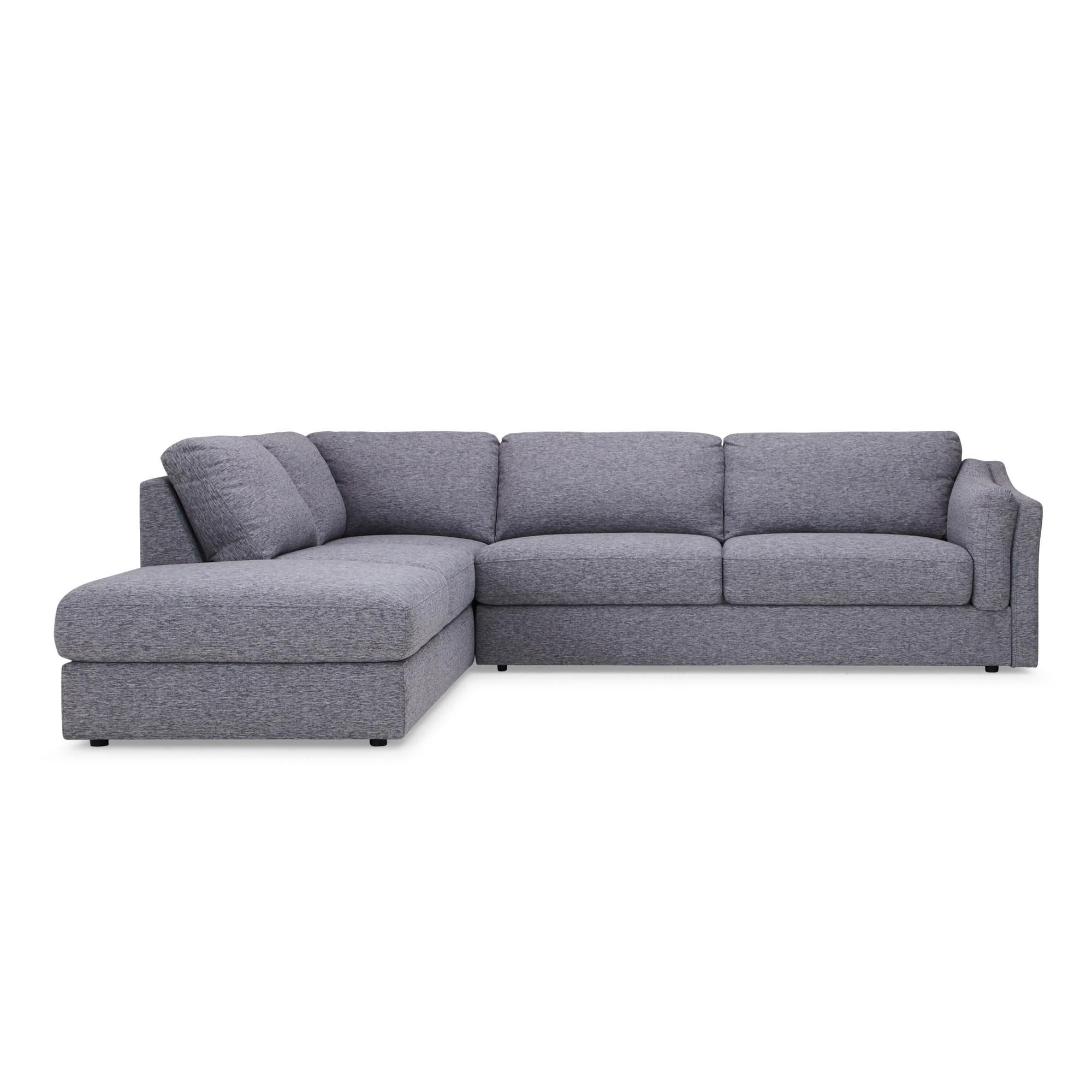 Dunelm Grey Westow Left Hand Corner Sofa Corner Sofa Sofa Bed Sizes