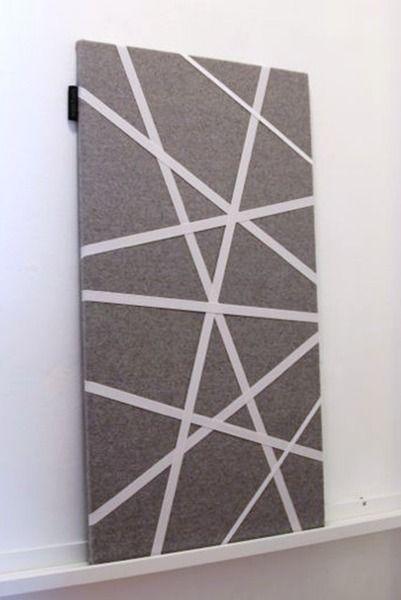 125 Design Pinboard Memoboard Made In Germany Munich Grey Felt