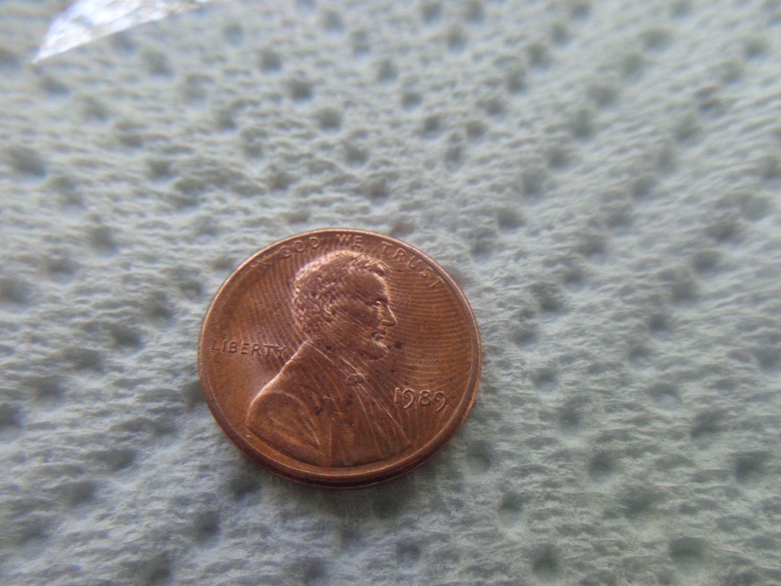 error #errorcoins *RARE* Flaw Error Coin 1989 Penny | Error Coins