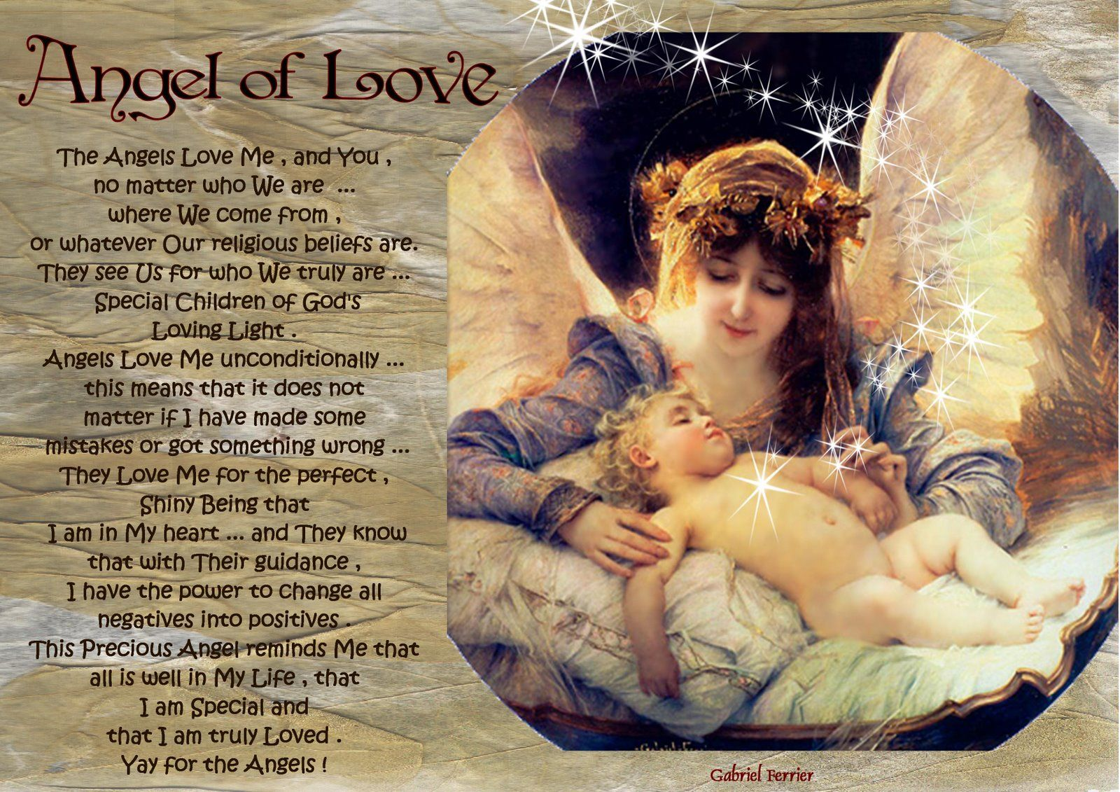 angel blessings: ANGEL OF LOVE