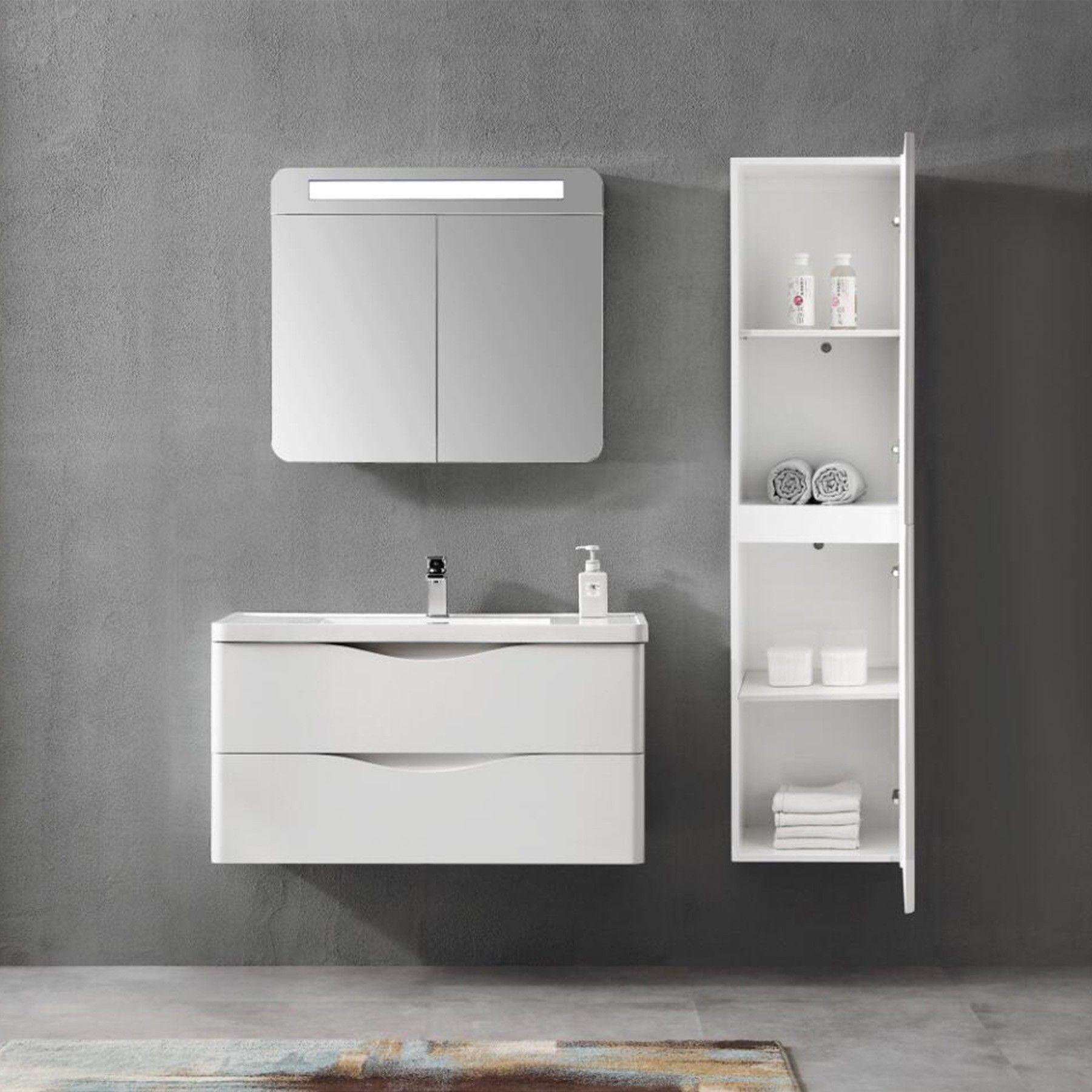 39 Eva Vanity Set Floating Bathroom Vanities Top Bathroom