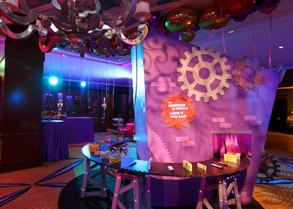 Conveyer Belt Candy Factory For Wonka Theme Rafanelli Events Bat Mitzvah