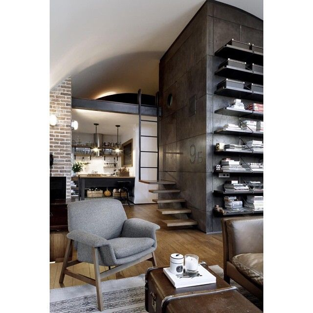 Sneaky little bed loft. by interior_styling