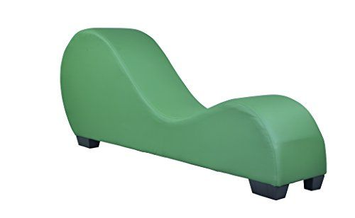 New Green Leather Yoga Chair Stretch Sofa Relax Chair Love