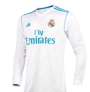 4513cf380 Camiseta Real Madrid 1ª Equipación ML 2017-2018