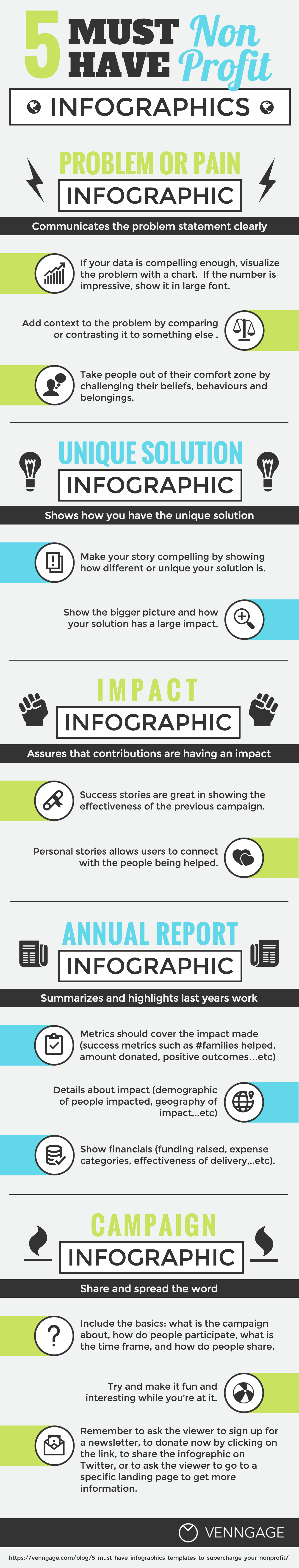 Nonprofit Infographic Template  Marketing  Pr Tools  Strategic