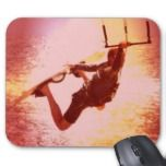 Kiteboarding mouse pad designs.