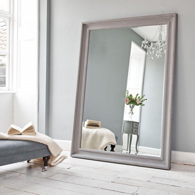Vermont Oversized Mirror - Danish Grey   Oversized mirror, Danish ...