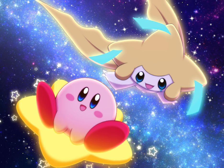 Kirby and Jirachi Kirby pokemon, Kirby, Kirby character