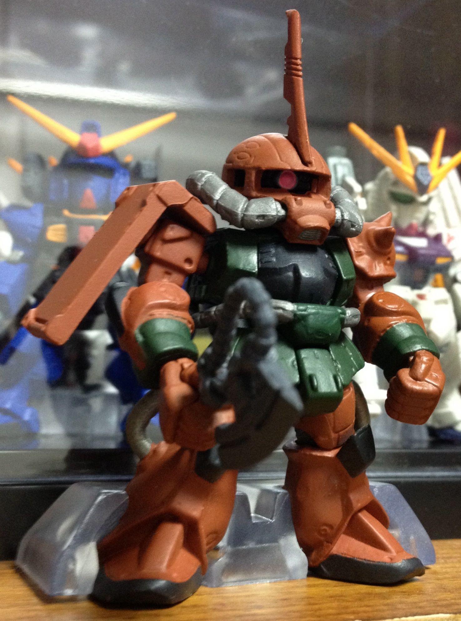 Gundam converge 5 ms06fs zaku ii garma zabi custom ガンダム