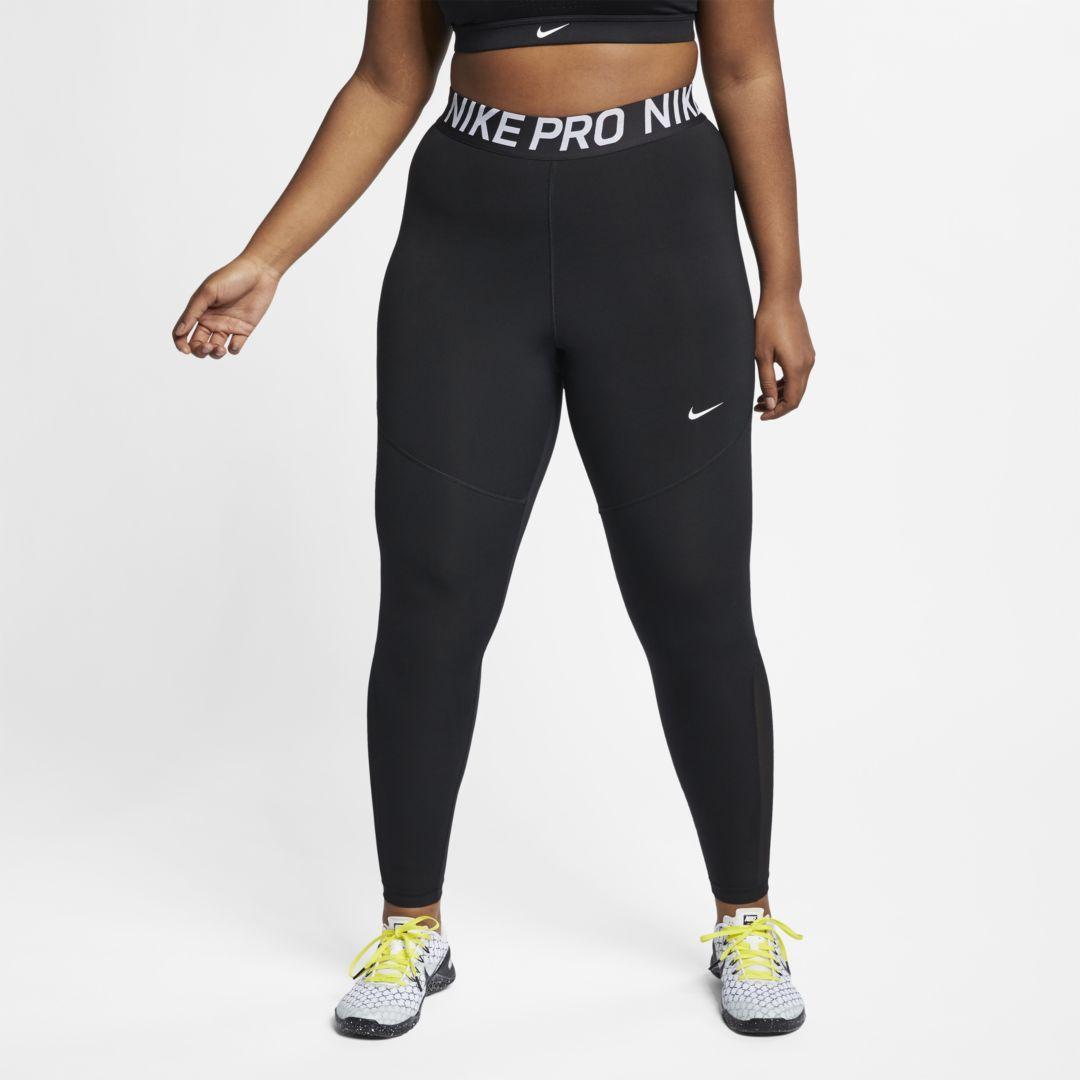 8dd82cdaafeb6 Nike Pro Women's Tights (Plus Size) Size 1X (Black) | Products