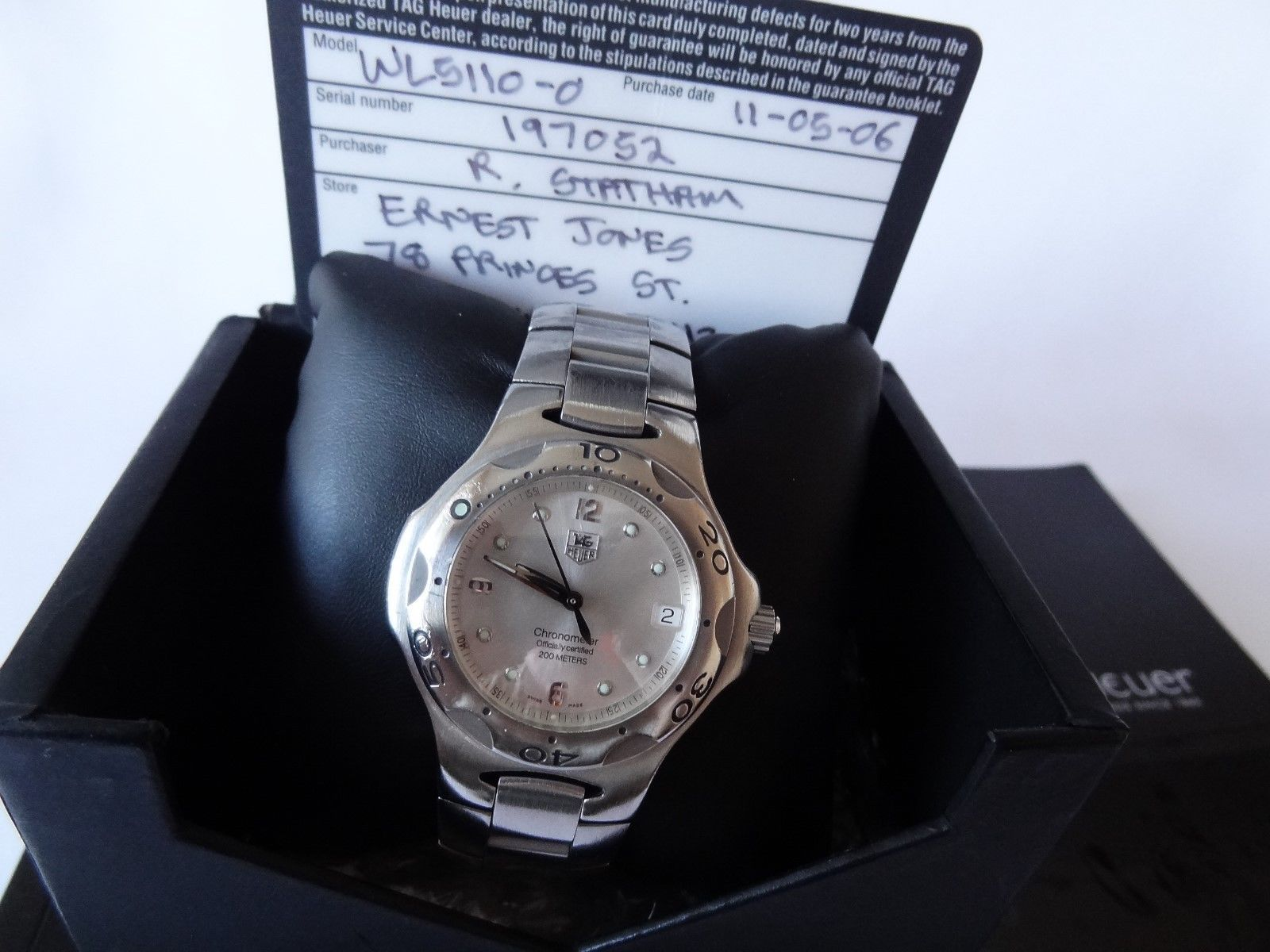 GENTS MENS TAG HEUER AUTOMATIC CHRONO(METER) 300M W/R FINE CONDITION BOX & CERT https://t.co/GM0PpNDYFH https://t.co/2d1BQdZjXC