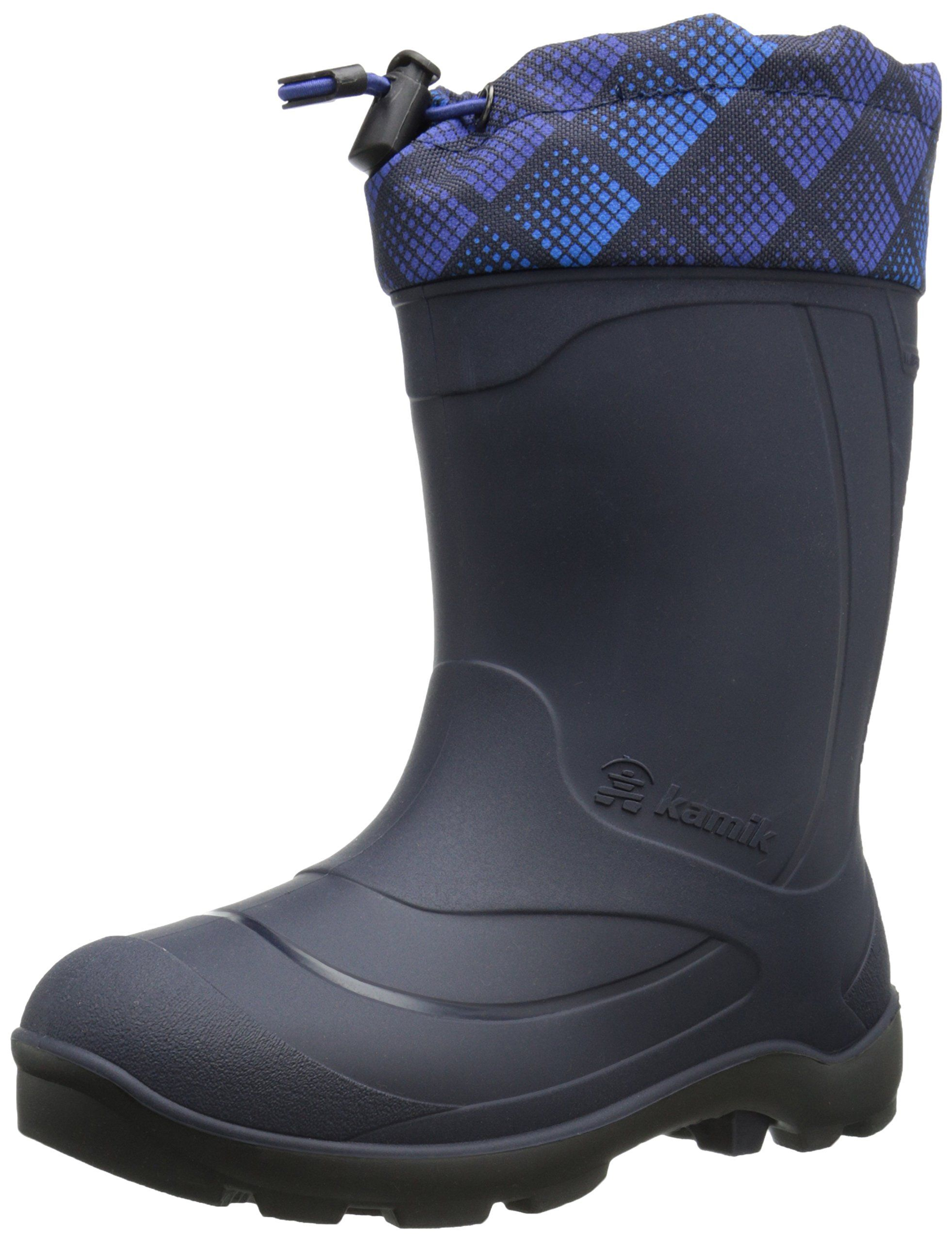 Kamik Snobuster2 Snow Boot Toddler Little Kid Big Kid Navy 6 M Us Big Kid Made In Canada Waterproof Minus 25f Comfort R Boots Insulated Boots Barn Boots