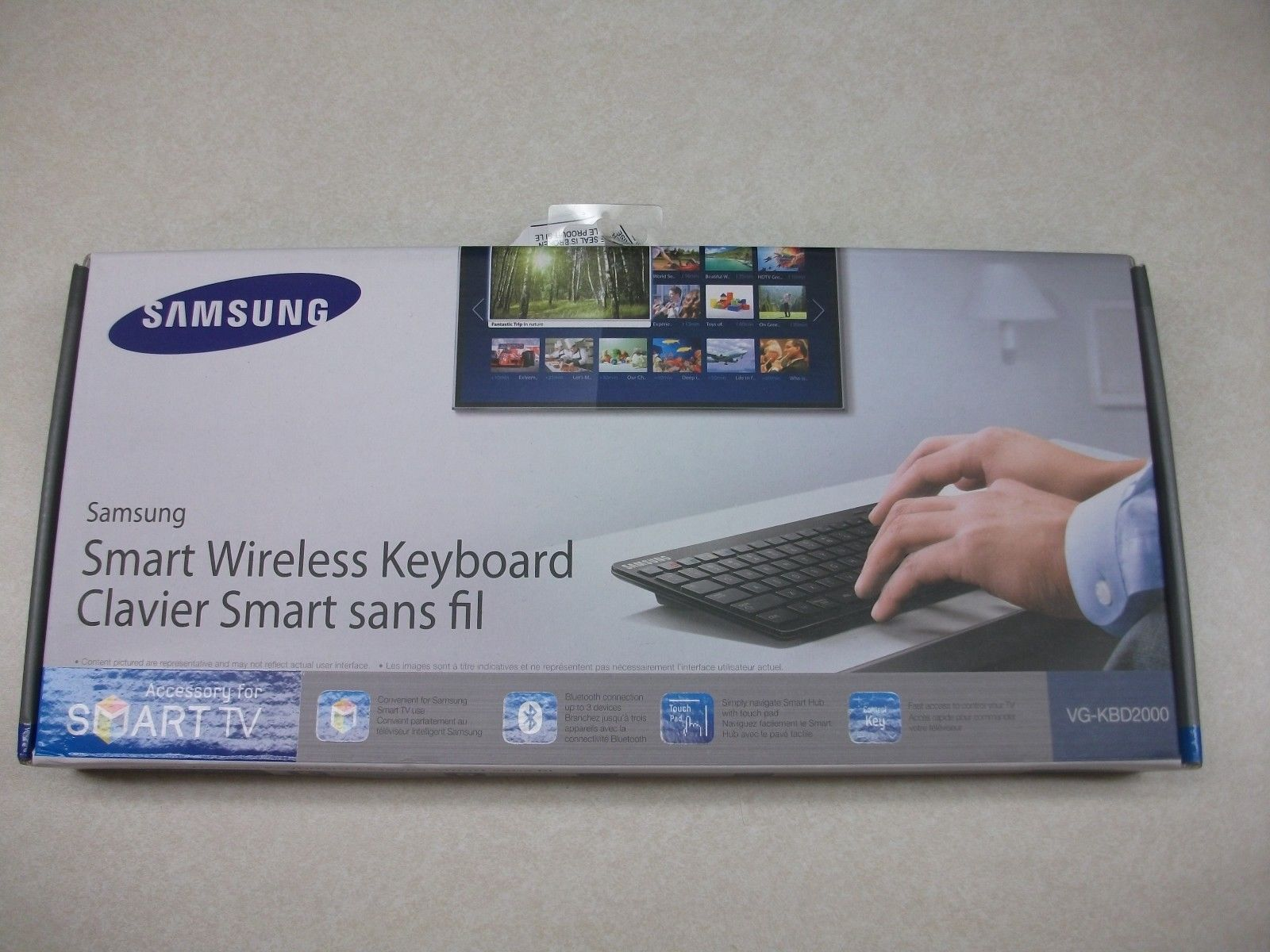 Samsung VG-KBD2000 Wireless Keyboard Samsung Smart TVs (eBay Link)