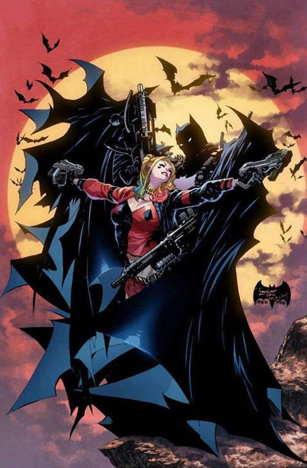 DETECTIVE COMICS #1000 ANACLETO VIRGIN VARIANT BATMAN JOKER HARLEY NM 1027