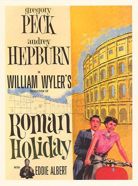 Roman Holiday   Movie Posters Romance Classic /& Vintage Cinema