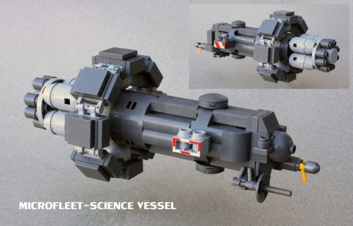 MICROFLEET-Science Vessel by ska2d2 http://flic.kr/p/AUS2Qc