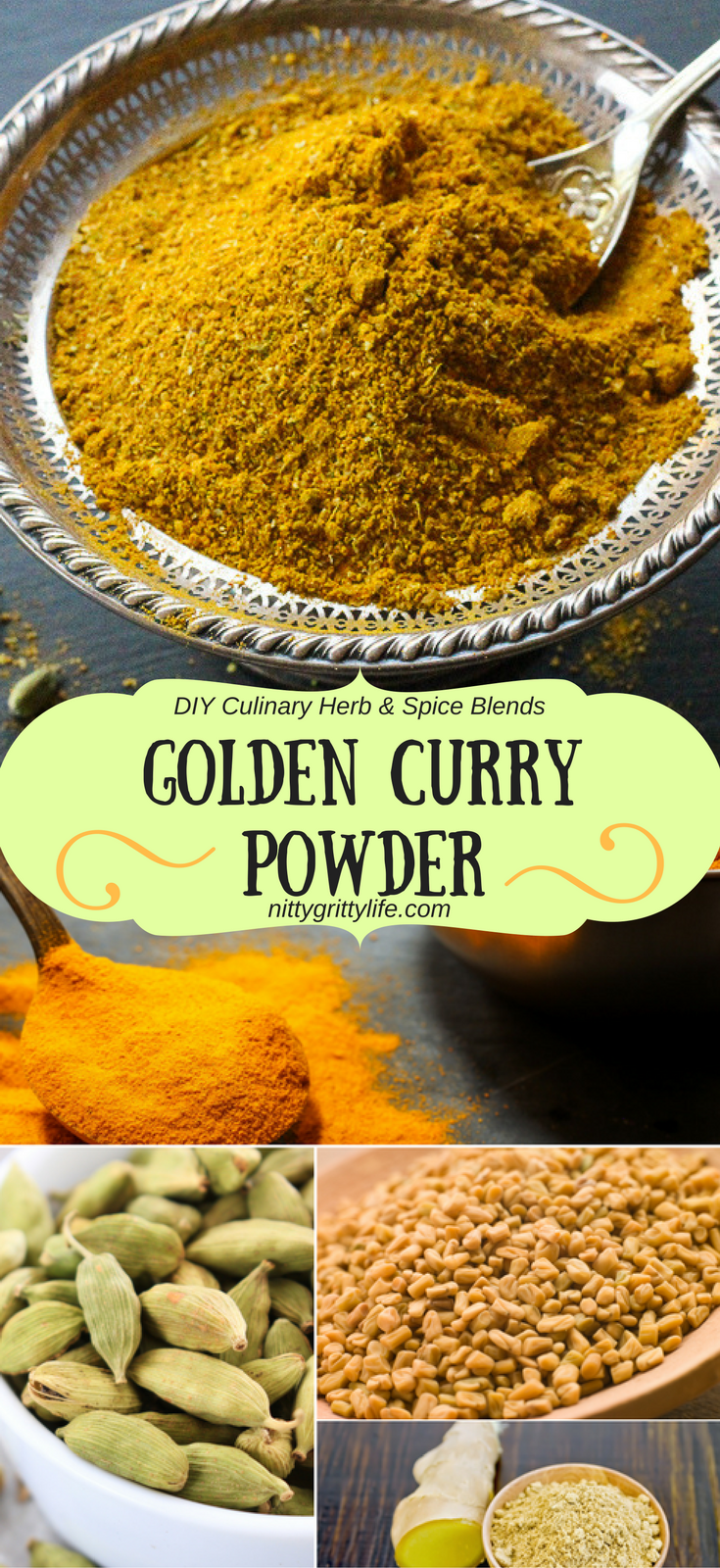 The Secret To This Delicious Golden Curry Powder Blend Is In The Spices Grinding Whole Spices Creates A Diy Curry That Curry Spices Curry Powder Golden Curry