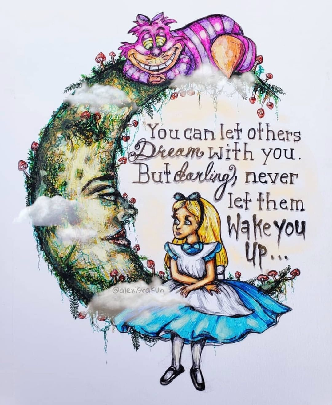 Image may contain 1 person Alice in wonderland clipart