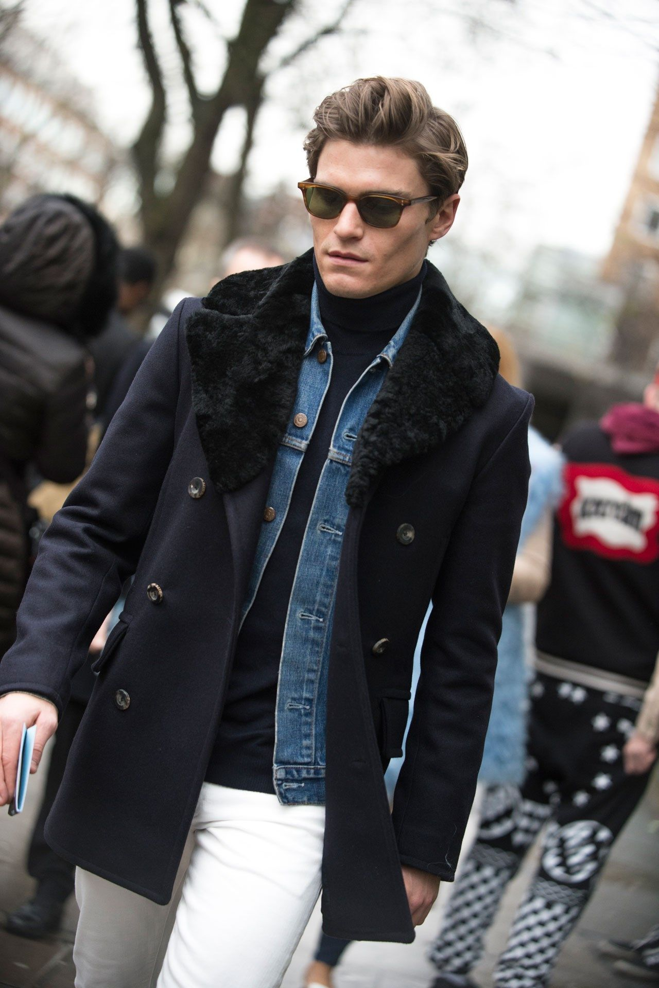The Strongest Looks On The Street At London Collections Men A W 16