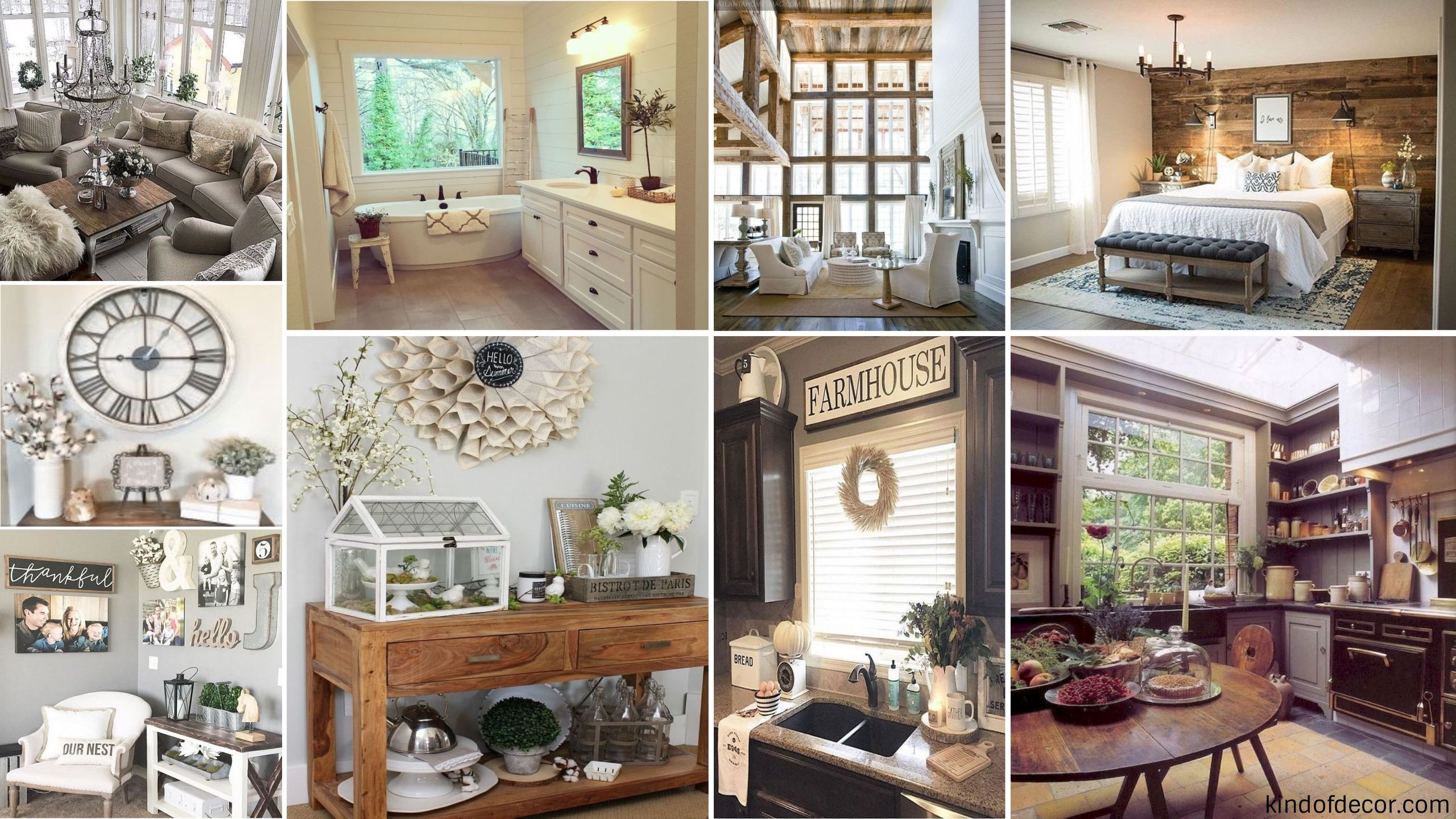 Gorgeous 39 Beautiful Rustic Farmhouse Home Decoration Ideas Httpkindofdecorcom