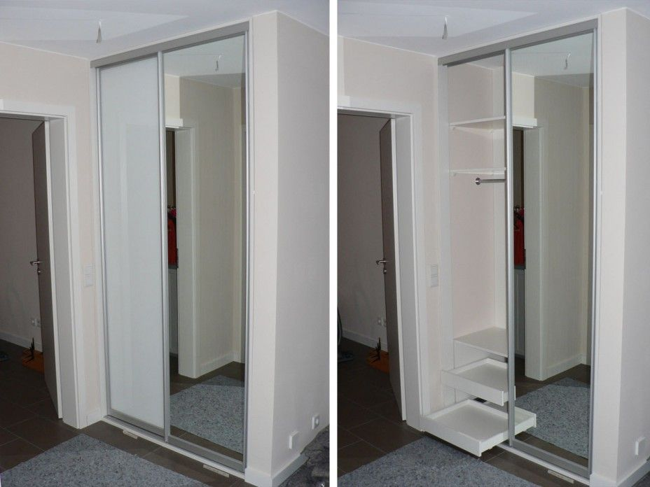 flurschrank garderobenschrank projekt in hamburg eppendorf garderobe. Black Bedroom Furniture Sets. Home Design Ideas