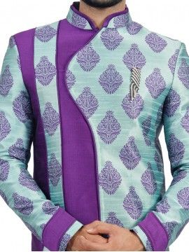 Two Tone Men's Wear Sherwani