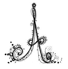 fancy letter art alphabet google search fonts pinterest