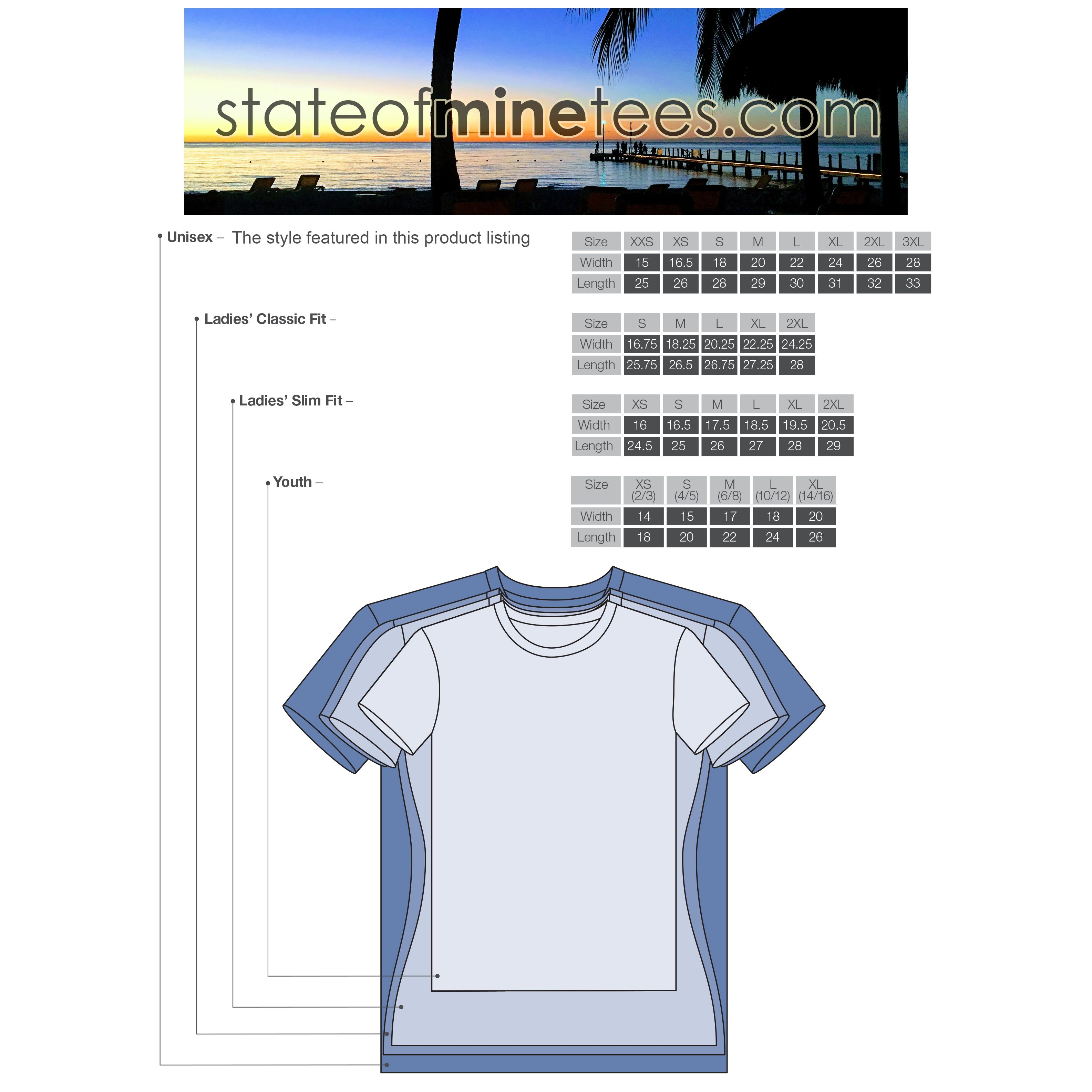 5a2ec6f367 What's the difference between a unisex tee, a women's tee and a ...