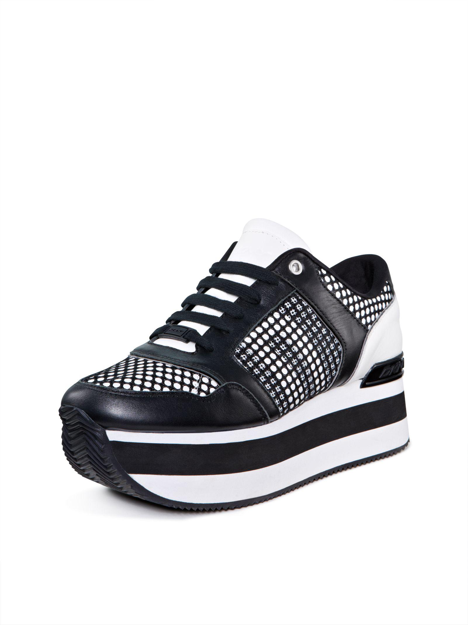 7fb0781eb91 Jill Platform Sneaker, WHITE-BLACK | shopping list | Sneakers ...