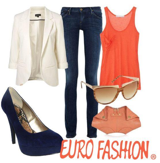 #Naranja #Azul #Beige  #Sunglasses #Eurofashion