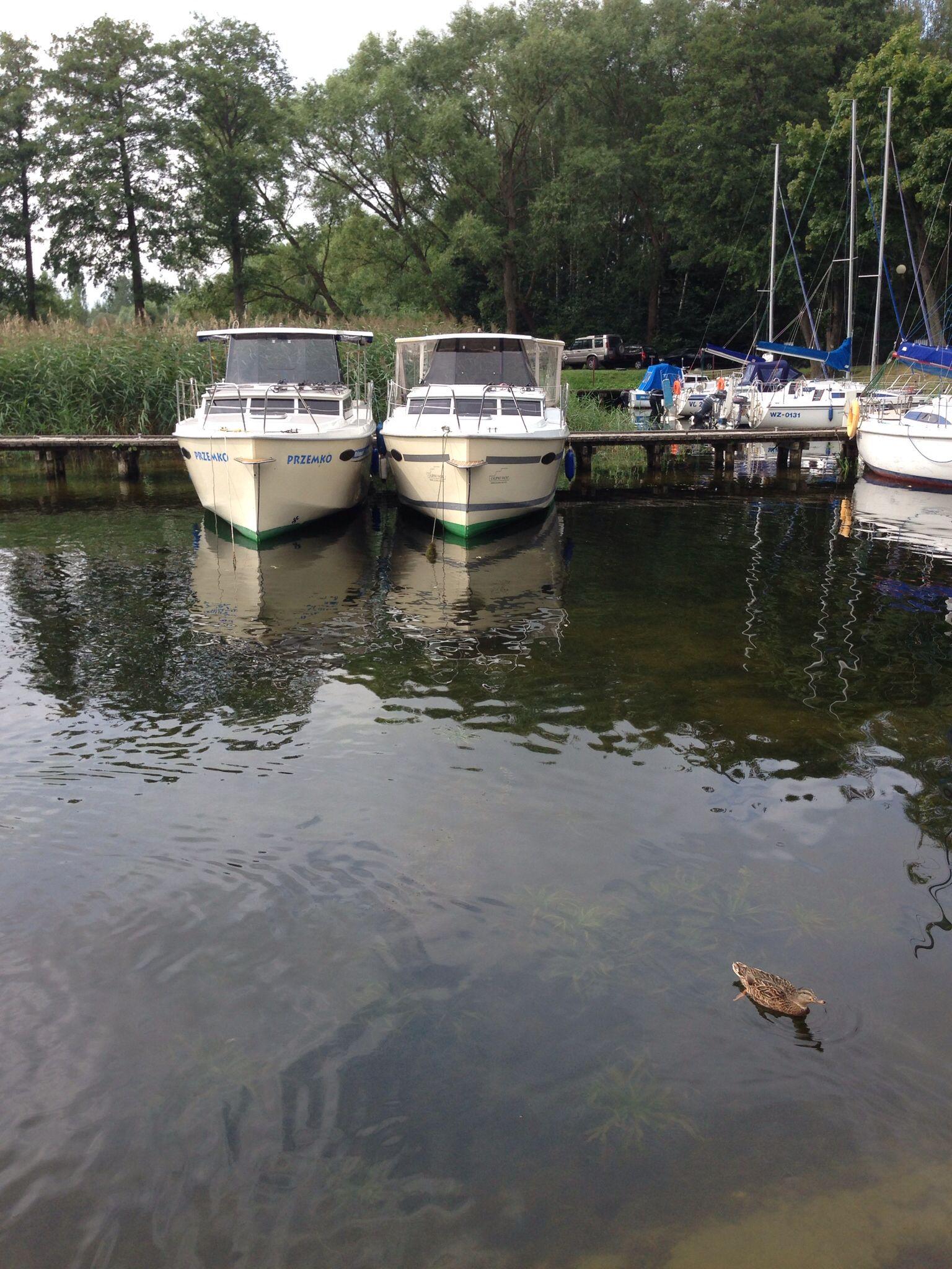 #hausboote Masuren #polen urlaub #houseboat poland