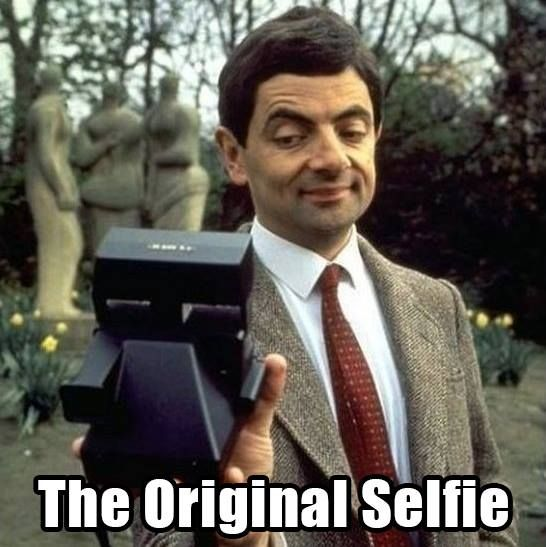 Funny Meme Selfie : Mirror selfie quotes by mr bean funny stuff pinterest