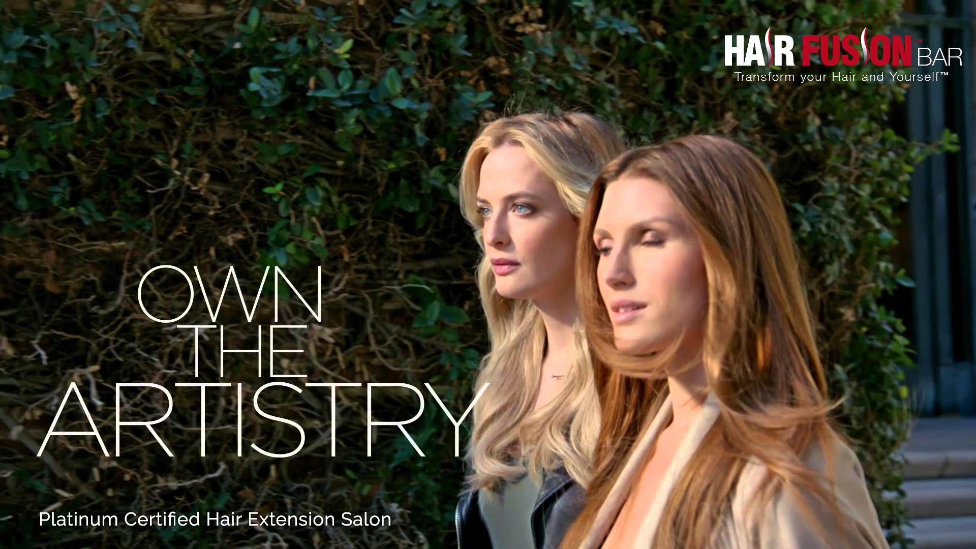 Hair Fusion Bar 2016 Tv Commercial Great Lengths Platinum Hair