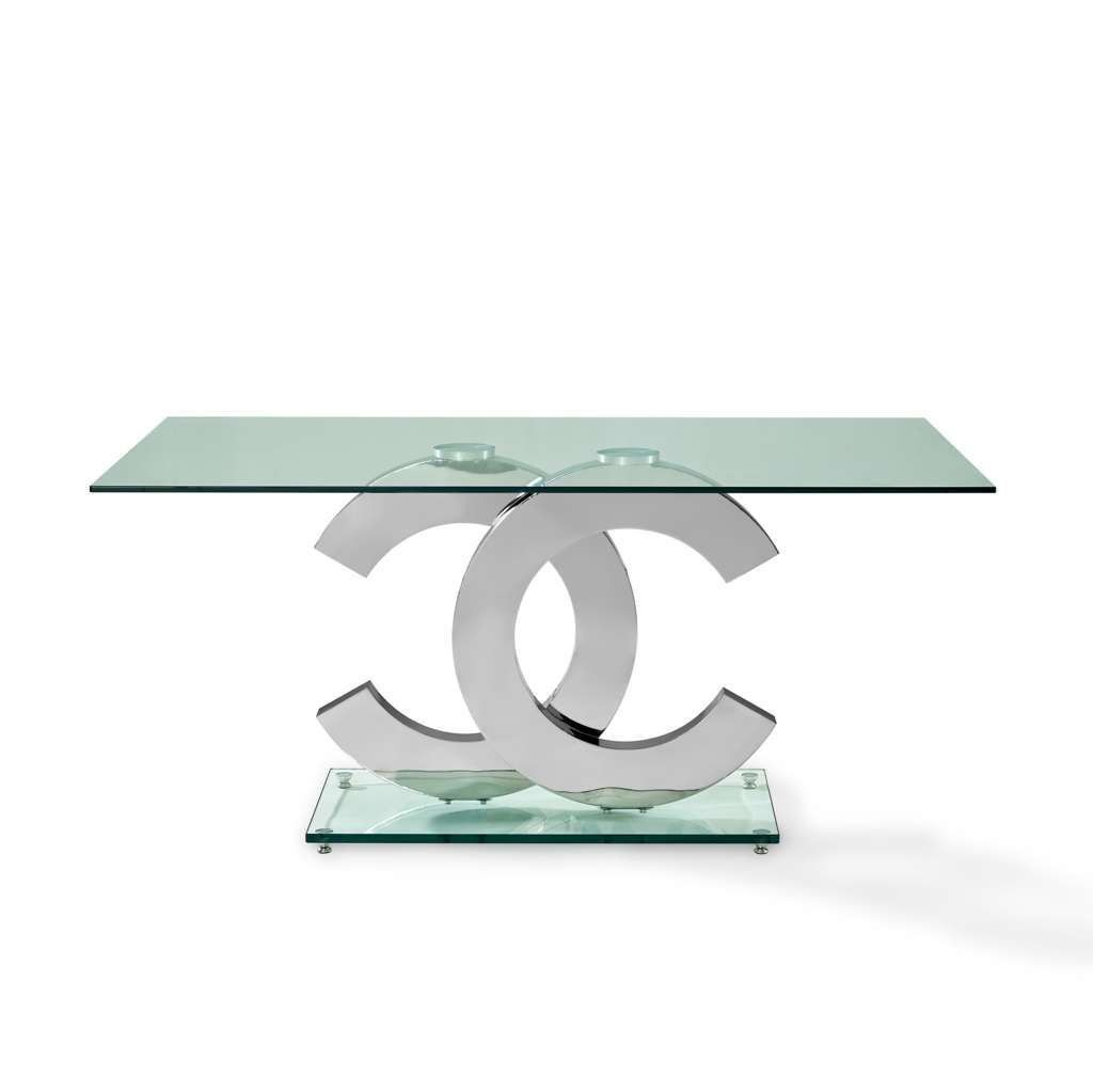 Coco Dining Table By Creative Furniture Glass Dining Room Table