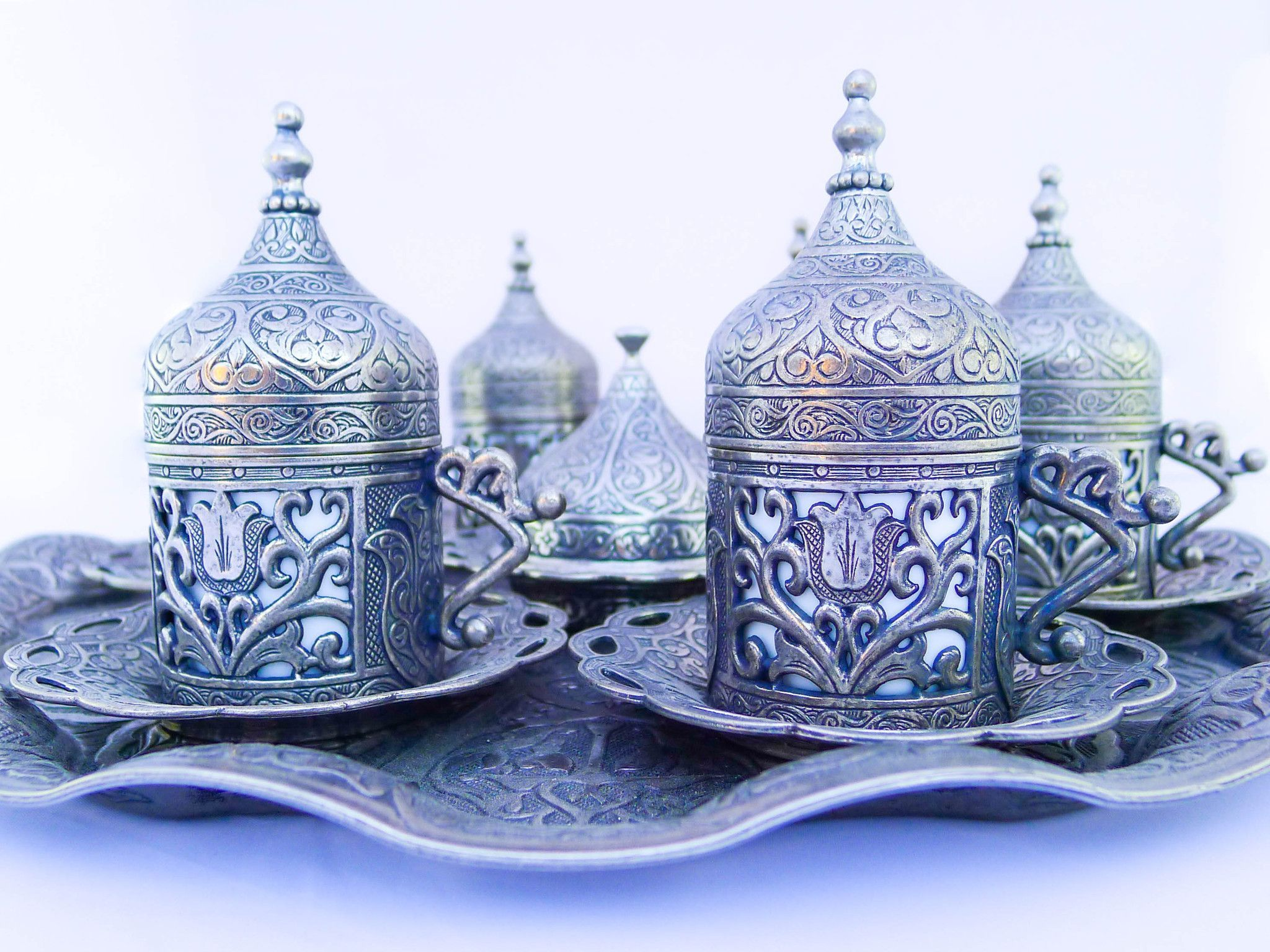 17++ Turkish coffee set with tray trends