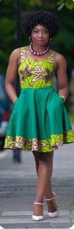 african prints short dresses 34 #africanprintdresses