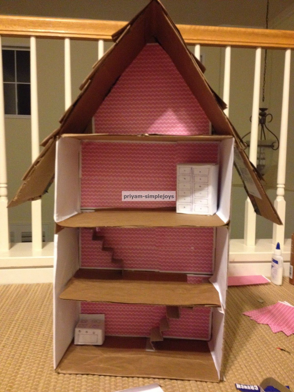 Shoe Box Dollhouse Craft For Kids: Thrifty Thursday @ LWSL