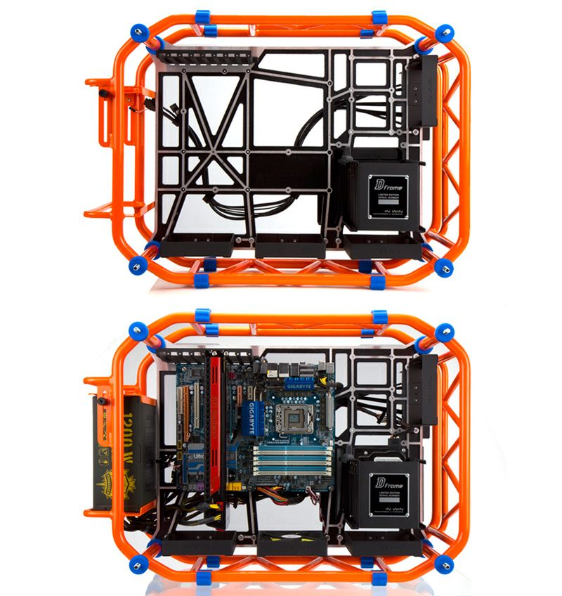 In Win D Frame Roll Cage Inspired Computer Case Product